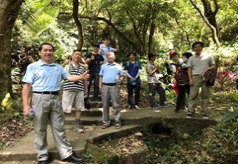 July 2020 Mountain climbing- Taiwan Professional Electrical Engineers Association R.O.C