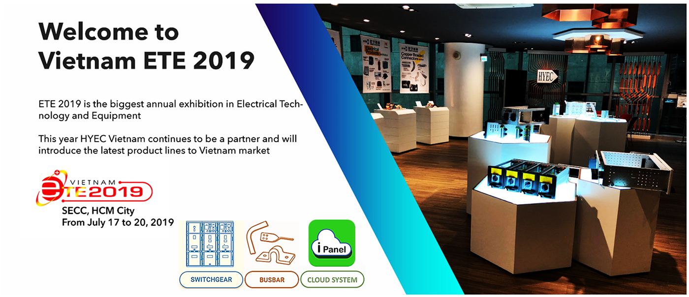HYEC in 2019 ENERTEC EXPO at Ho Chi Minh City
