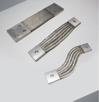 Flexible Braided Copper Busbar Connectors