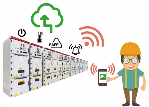 HYEC iPanel Cloud Management System (called to Switchgear Monitoring System)