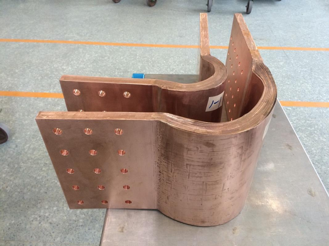 High Conductivity Laminated Copper Connector